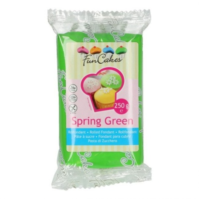 Funcake spring green sugar paste 250g